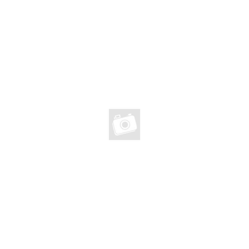 Desszertes üveg kanállal - 370 ml - rózsaszín